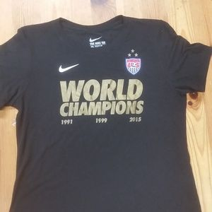 2015 USWNT World Cup Champions Nike Tee